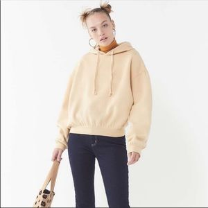 NEW UO River Hooded Pullover Sweatshirt